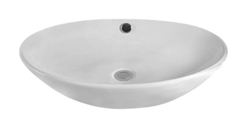 Basin Above Counter Oval 630mm