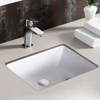Basin Under Counter Rectangular 500mm