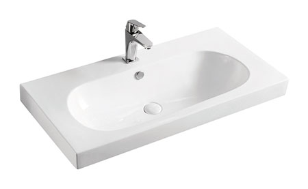 Basin Wall Hung Rectangular 600mm/720mm/900mm