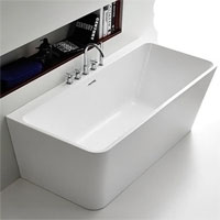 Freestanding Rectangular Bath 1490mm