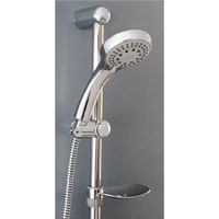 Sinfonia Shower on Rail